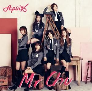 Foto Sampul A Pink  Untuk 'Mr. Chu' Versi Jepang