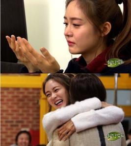 Sung Yuri Nangis Saat Bicara Dengan Lee Hyori