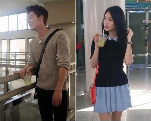 "Yura Tetap Pakai Cincin Pasangan Dengan Hong Jong Hyun Di Luar Syuting ""We Got Married"""