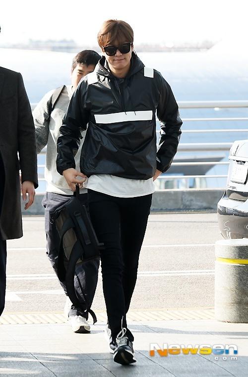 [Foto] Penampilan Pertama Lee Min Ho SetelahHubungannya Dengan Suzy Terungkap