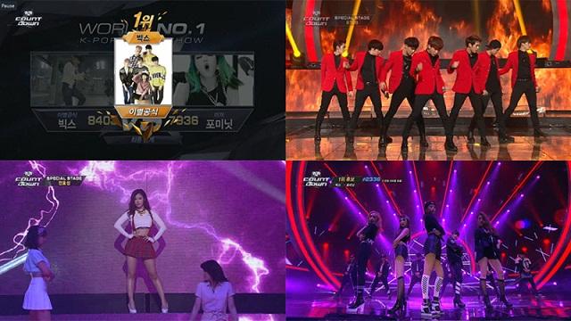 [Video] Penampilan M! Countdown Meriahkan Ulang Tahun Ke-20 MNet