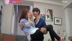 Romantisnya Song Jae Rim Gendong Kim So Eun Ala Pengantin Baru