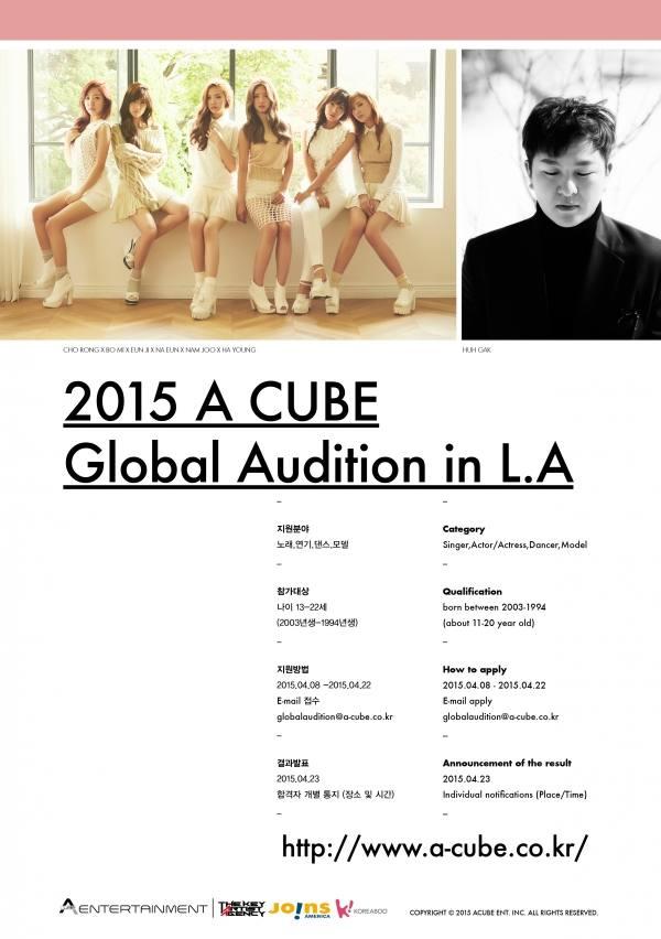 A Cube Entertainment Melakukan Audisi Global Audition Di Los Angeles