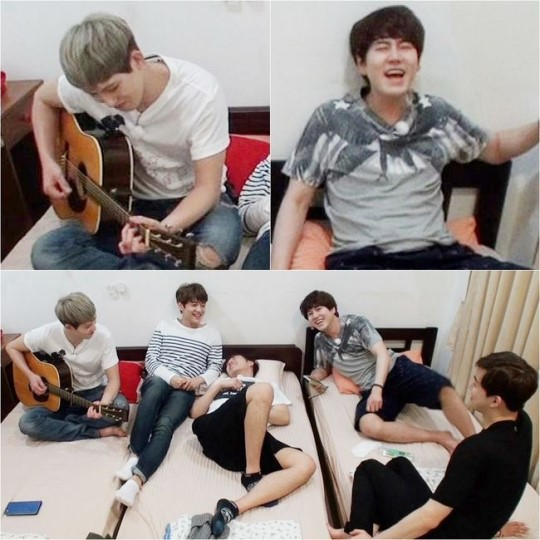 "Kyuhyun Bertindak Sebagai Produser Lagu ""Fluttering India"""