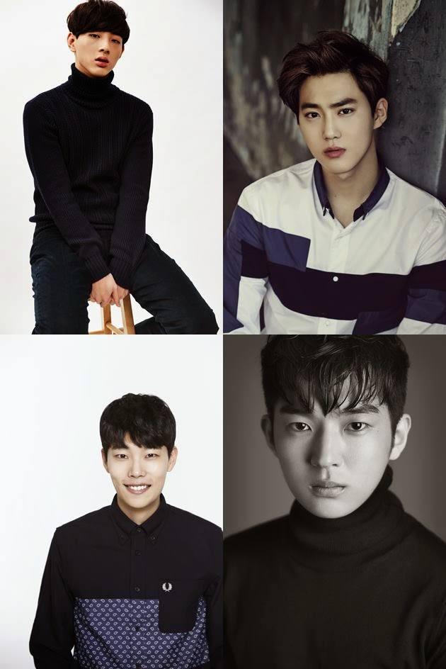 """Suho EXO, Ji Soo, Ryu Joon Yeol, Kim Hee Chan Dipastikan Main Di Film """"Glory Day"""""""