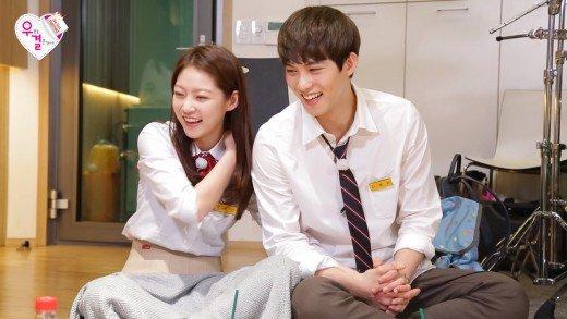 CNBlue Min Hyuk dan Jung Shin Mengolok-olok Lee Jong Hyun Di Depan Gong Seung Yeon