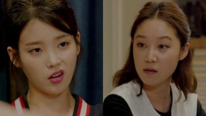 Adu Aegyo Mabuk IU dan Gong Hyo Jin