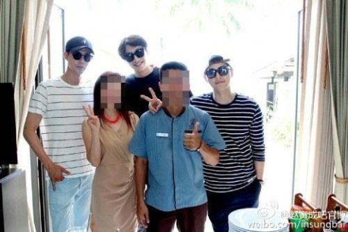 Foto Lain Dari Liburan Jo In Sung, Lee Kwang Soo, dan Song Joong Ki