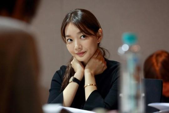 """Foto-Foto Shin Min Ah dan Lee Je Hoon Saat Pembacaan Naskah Pertama Drama """"Tomorrow With You""""5"""
