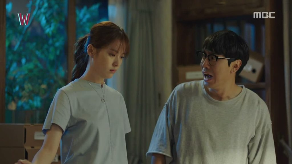 Sinopsis Lengkap Drama Korea W Episode 1 Part 2-2