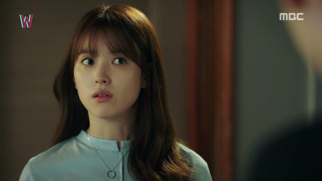 Sinopsis Lengkap Drama Korea W Episode 1 Part 3-10