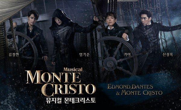 VIXX Leo dan Gugudan Haebin Main Dalam Musikal 'Monte Cristo'