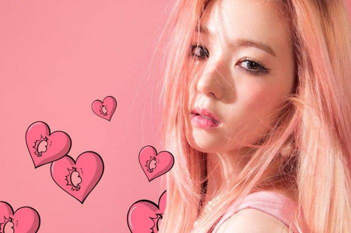 Foto Irene dengan Warna Rambut Baru untuk Comeback Red Velvet2
