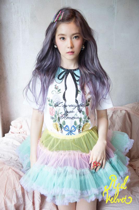 Foto Irene dengan Warna Rambut Baru untuk Comeback Red Velvet3