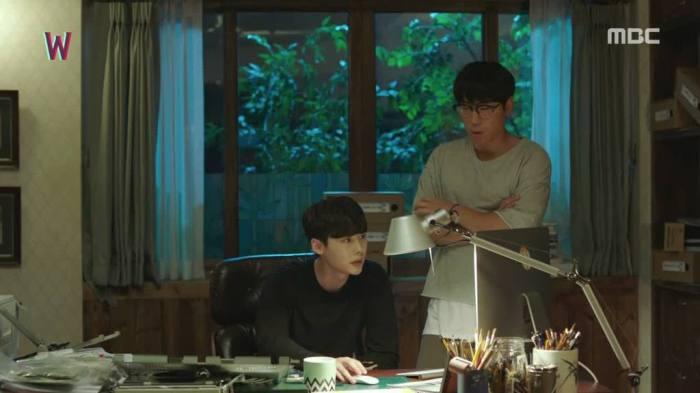 Sinopsis Lengkap Drama Korea W-Two Worlds Episode 13 Part 1-1